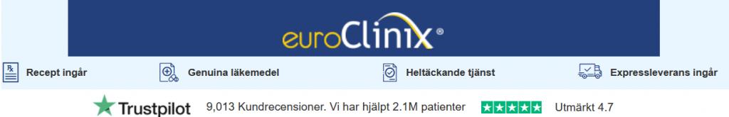 köpa Viagra online och betala med Klarna hos euroclinix.